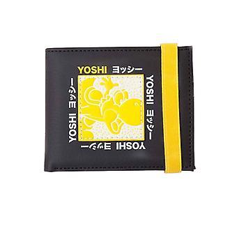 Super Mario lommebok Festival Yoshi nye offisielle Nintendo gamer svart bifold