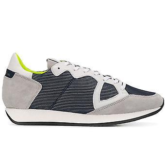 Monaco Low Legere Bleu Sneakers
