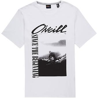 ONeill Frame Short Sleeve T-Shirt in Super White