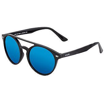 Simplify Finley Polarized Sunglasses - Black/Blue