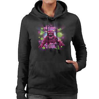 Ghostbusters Too Cool For Zuul Women's Hooded Sweatshirt