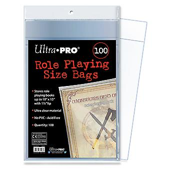 Ultra Pro Role Playing Size Sacs Taille 254 x 330.2 mm 100-Pack