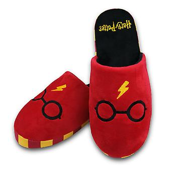 Adults Where's Harry? Harry Potter Mule Slippers Size 8-10