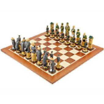 Mahonie schaakbord van Sherlock Holmes