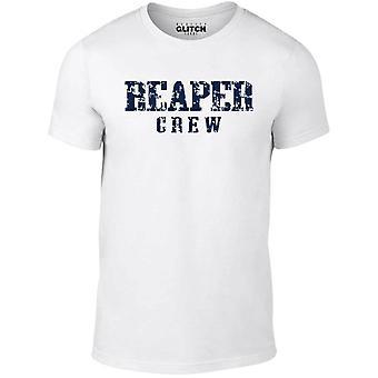 T-shirt d'équipage de faucheur pour hommes