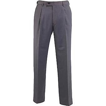 Alexandra Mens Icona Single Pleat Trousers