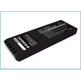 Battery for Fluke BP7235 700 740 744 Calibrator DSP-4000 DSP-4000PL 2500mAh