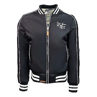 Top Gun The Flying Legend MA-1 Reversible Bomber Jacket Black