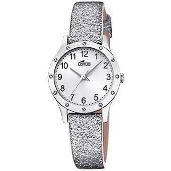 Lotus JUNIOR 18624-1 watch - Quarz Armband Paillet graue Frau