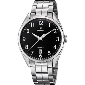 Festina F16976-2 horloge-analoge mannen stalen horloge