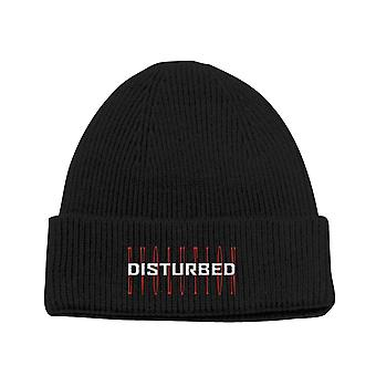 Disturbed Beanie Hat Evolution Band Logo new Official Unisex