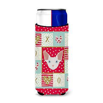 Carolines Treasures  CK5170MUK Sphynx Cat Michelob Ultra Hugger for slim cans