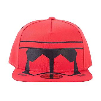 Star Wars baseball cap episode IX Red Trooper hjelm nye offisielle Red SnapBack