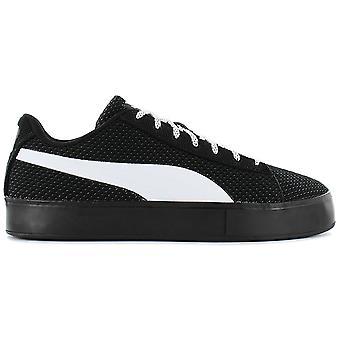 Puma X DP Court Platform K 363457-01 Herren Schuhe Schwarz Sneaker Sportschuhe
