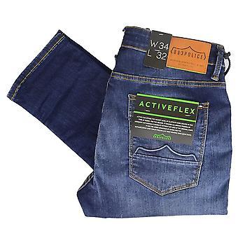 883 Police Moriarty Slim Fit Dark Wash Jeans