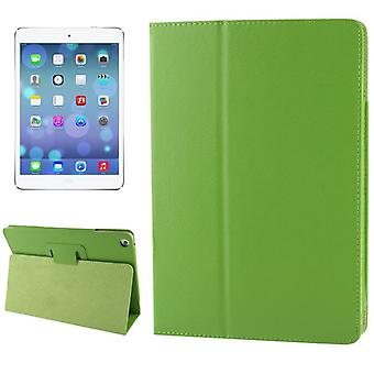 For iPad Air Case,Modern Lychee Leather Smart Durable Shielding Cover,Green
