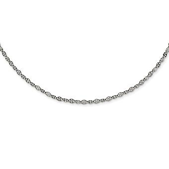 Stainless Steel Polished 2.90mm Fancy Link Chain Necklace Jewelry Gifts for Women - Length: 16 to 20