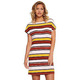LingaDore 5409-167 Frauen's Pep rot Streifen Print Nachthemd