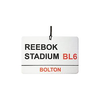 Bolton / Reebok Stadium Street Sign Car Air Freshener