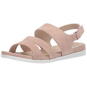LifeStride Women's Ashley 2 Flat Sandal, Blush, 7 N US