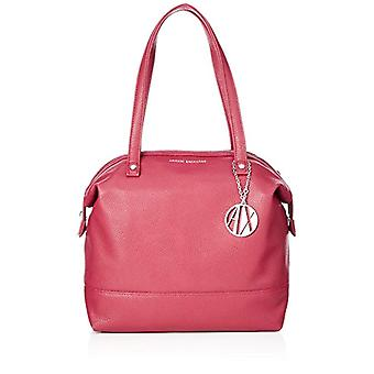 ARMANI EXCHANGE Tote Bag Leather - Red Women's Bags (Royal Red) 31x16x52cm (B x H T)