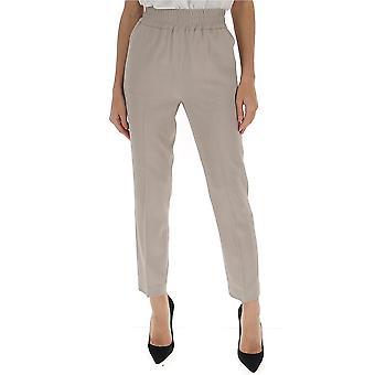 Fabiana Filippi Pad260w890a6110108 Women's Beige Cotton Pants