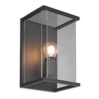 Firstlight Trophy Modern Graphite Box Wall Light