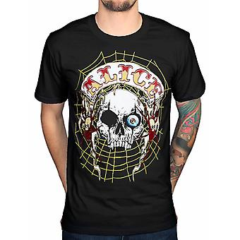 Alice Cooper Band Patch Officielle Tee T-shirt herre Unisex