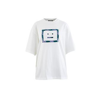 Acne Studios Cl0055183 Women's White Cotton T-shirt