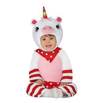 Peuters Little Unicorn Fancy Dress Kostuum