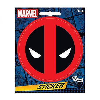 Deadpool Mask Logo Sticker