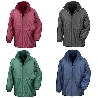 Result Mens Core Adult DWL Jacket (With Fold Away Hood)