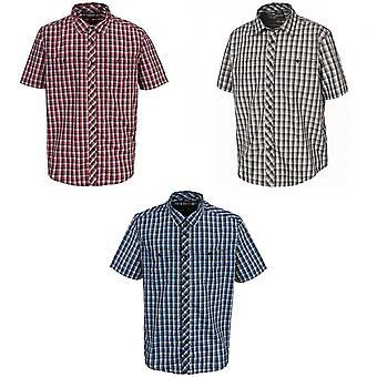 Trespass Mens Hip Short Sleeve Casual Shirt