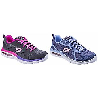 Skechers Childrens Girls Air Appeal Breezy Bliss Contrast Trainers
