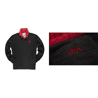 Musta & Blue 1871 miesten lain Club Rugby-paita