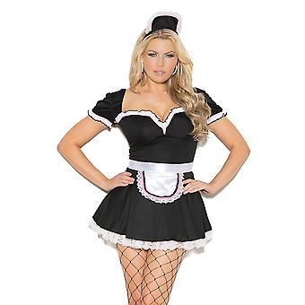 Womens Maid To Please French Maid Halloween Costume