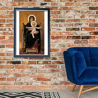 William Bouguereau - Virgin and Child Poster Print Giclee