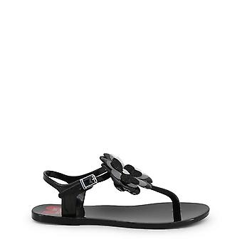 Love Moschino Original Women Spring/Summer Flip Flops - Black Color 33932