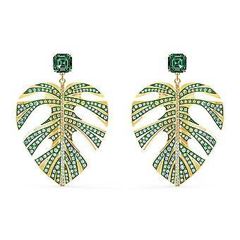 Swarovski 5525242 - Dor Leaf och Pearl Green Kvinnors Örhängen