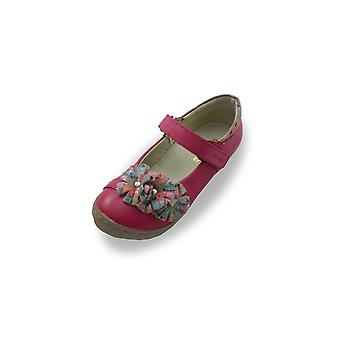 Froddo pink mary-jane shoes with rosette