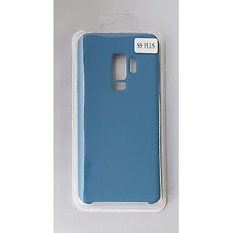 Silicone Cover Case for Samsung G965 S9 Plus BLUE