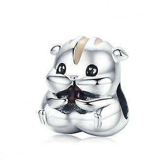 Sterling Silver Charm Hamster - 6074
