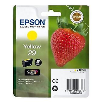 Ursprungliga bläck bläckpatron Epson C13T298440 gul