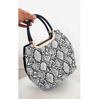 IKRUSH Womens Erin Snake Print Handbag