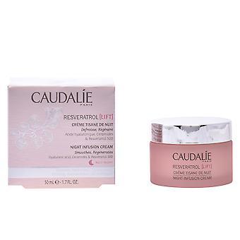 Caudalie resveratrol Lift crème Tisane de nuit 50 ml voor vrouwen