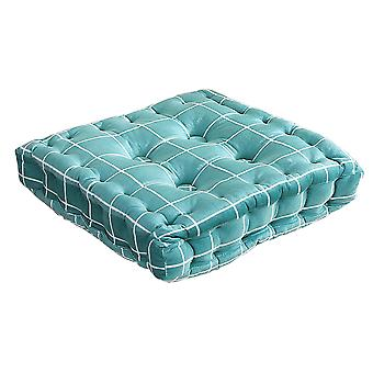 Blue Printed square mat