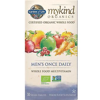 Garden of Life Mykind Organics miesten kerran päivässä Caps 30 1230