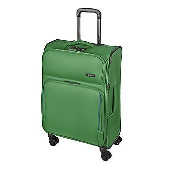 d&n Línea de viaje 7904 Carro M, 4 ruedas, 66 cm, 70 L, verde