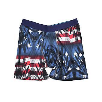 Stance Banner 6In Underwear in Blue