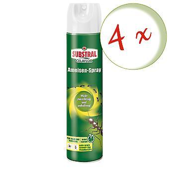 Sparset: 4 x SUBSTRAL® Celaflor® Ant Spray, 400 ml